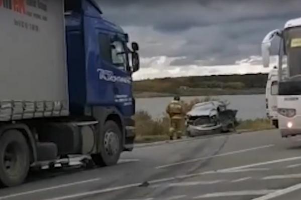 «Тойота» получила критические повреждения