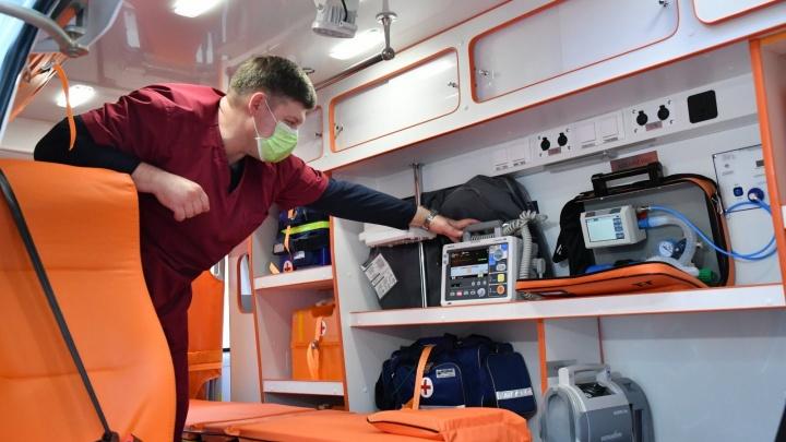 В Самару доставили 67 новых «Газелей» скорой помощи