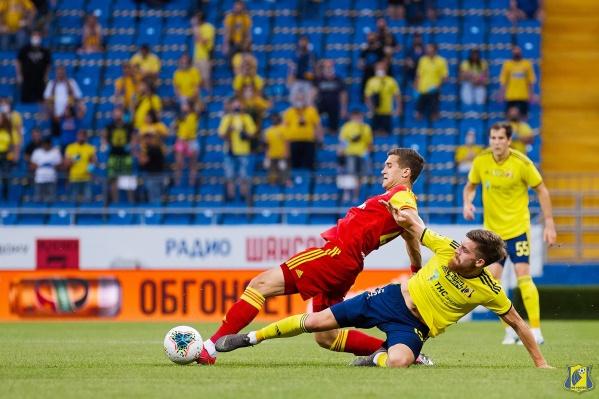 «Ростов» забил гол уже на первой минуте матча