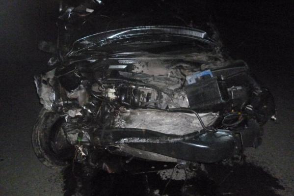 Виновник аварии в ДТП не пострадал