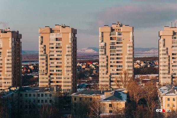 В самарском Минстрое сокрушаются — жилья строят много, ипотеку берут мало