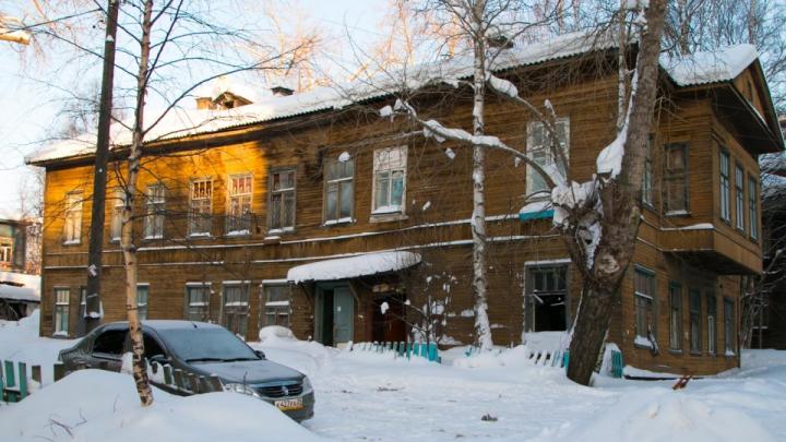 Полуразрушенный дом Вальнёвой в Архангельске ждет реставрация