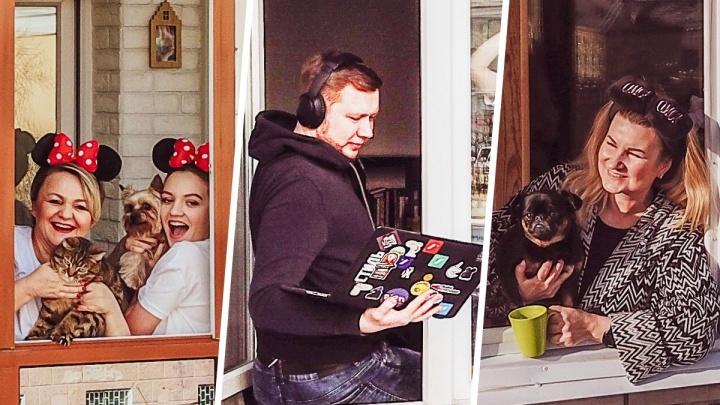 Соблюдая дистанцию: екатеринбургский фотограф снял людей на карантине с дрона