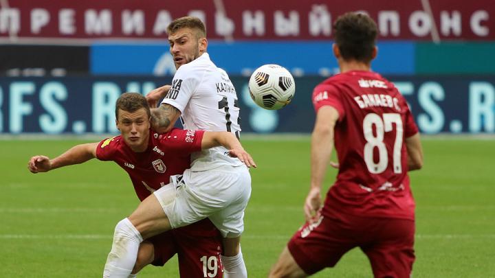 Судьбу матча решили при помощи телевизора: «Урал» добыл ничью в гостевом поединке с «Рубином»
