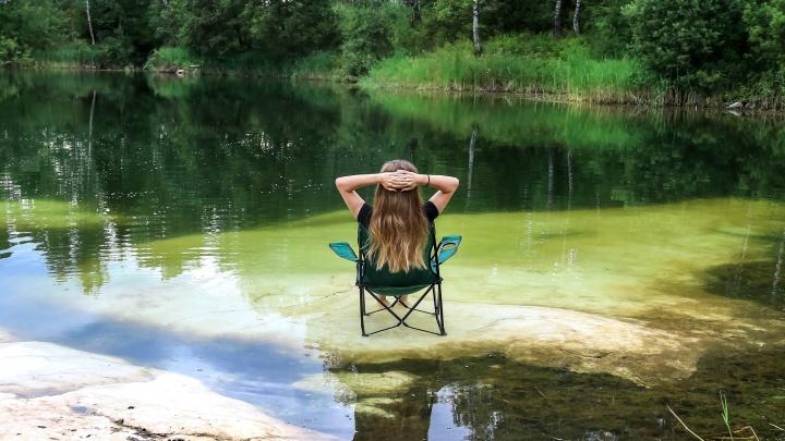 Мир глазами нижегородцев: едем на озеро с мраморными берегами
