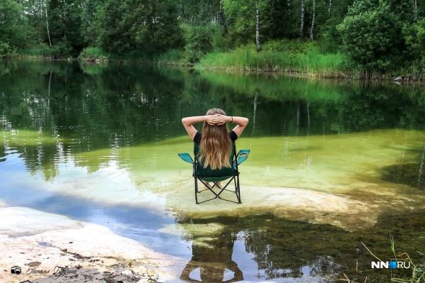 Согласитесь, хорошо так отдохнуть, бултыхая ножками в прогретой воде?
