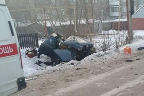 В аварии пострадали три человека, один погиб