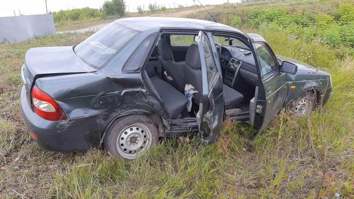 В Самарской области в ДТП двух Lada пострадали 7 человек
