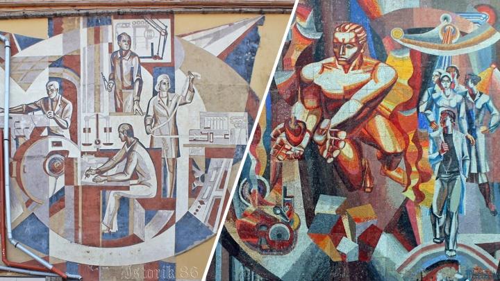 «Не все понимают, что это искусство»: как красноярцы сохраняют историю советских барельефов в своих коллекциях