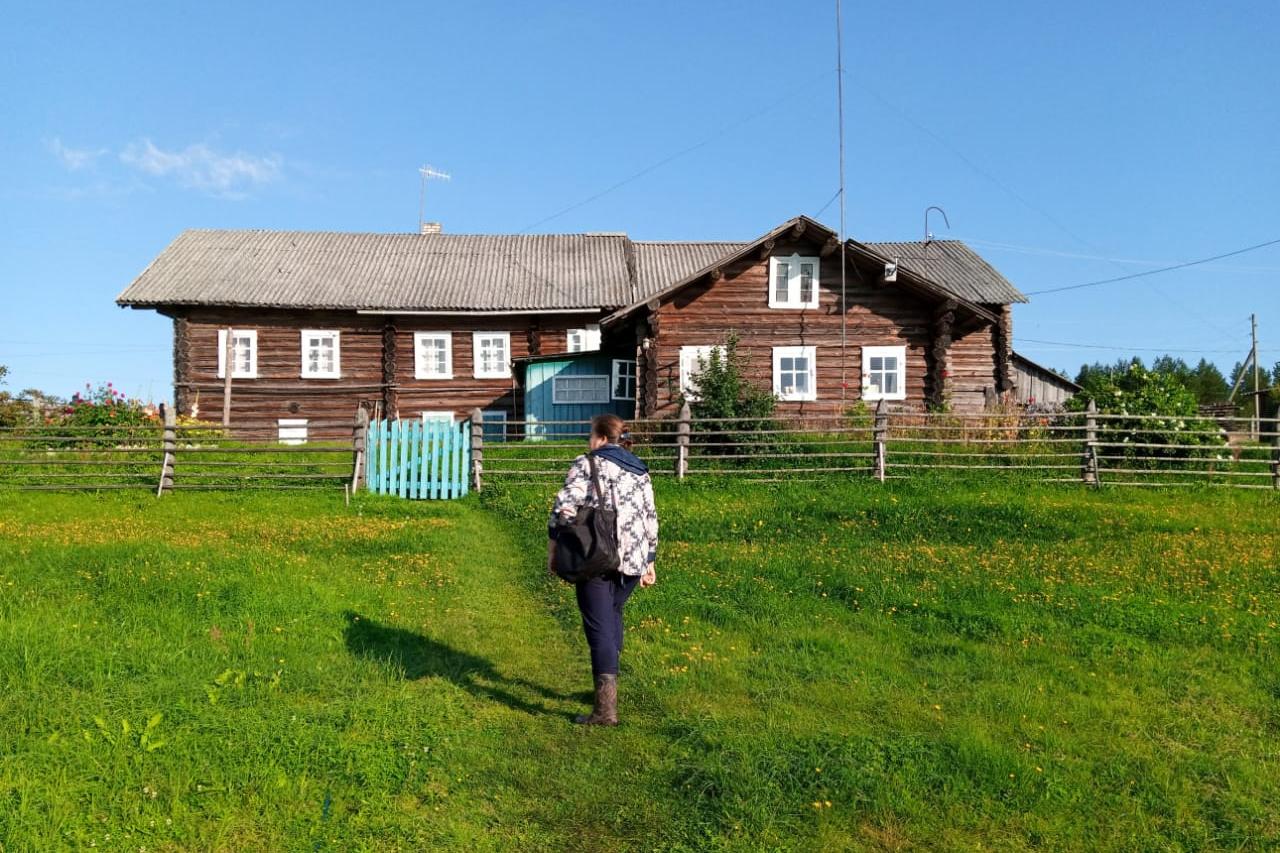 Деревни Плесецкого района интересны своей природой и старинной архитектурой и иностранцам