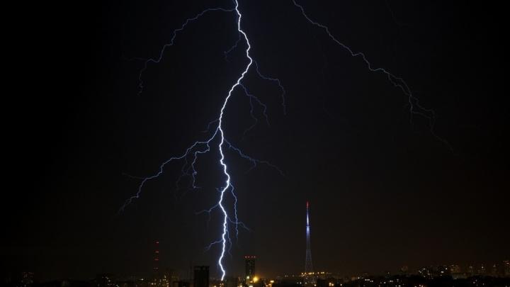 МЧС предупреждает о сильных дождях с ветрами и грозами в Прикамье