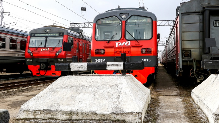 Электрички пустят от станции Стригино до Московского вокзала с 11 сентября