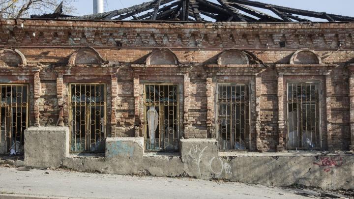 Он не эксплуатировался: сгоревший в Волгограде дом-памятник был на балансе ВолГУ