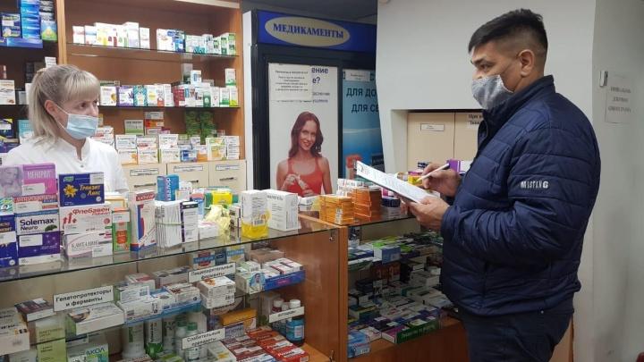 В Кузбассе депутаты проведут повторную проверку аптек на наличие противовирусных препаратов