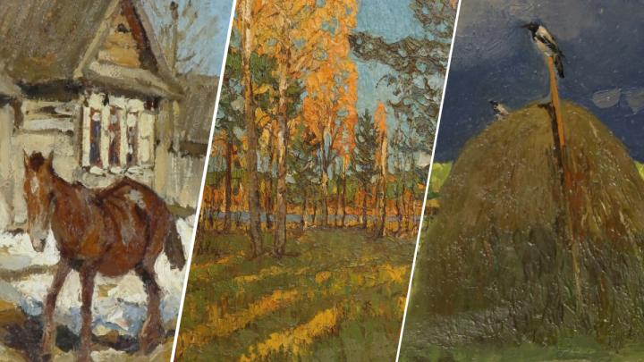 В Екатеринбурге запустили онлайн-марафон картин главного пейзажиста Урала. Посмотрите их