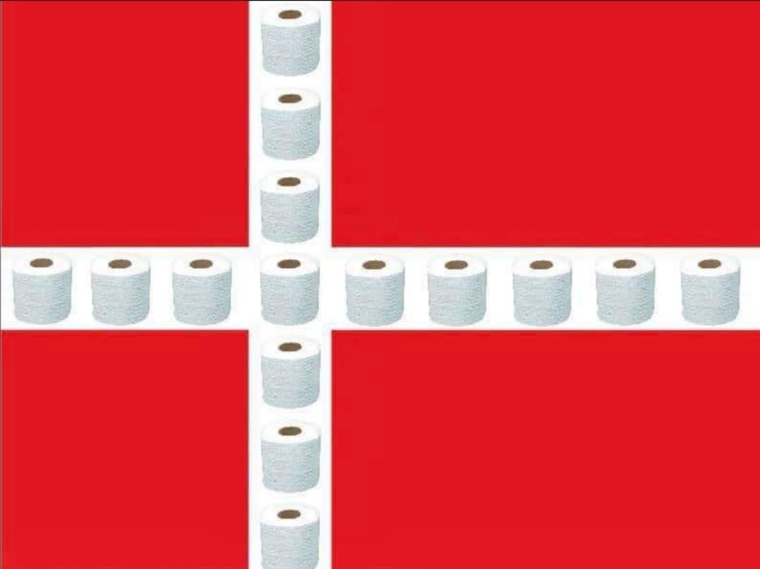Мем стал своеобразным символом избирательной запасливости датчан