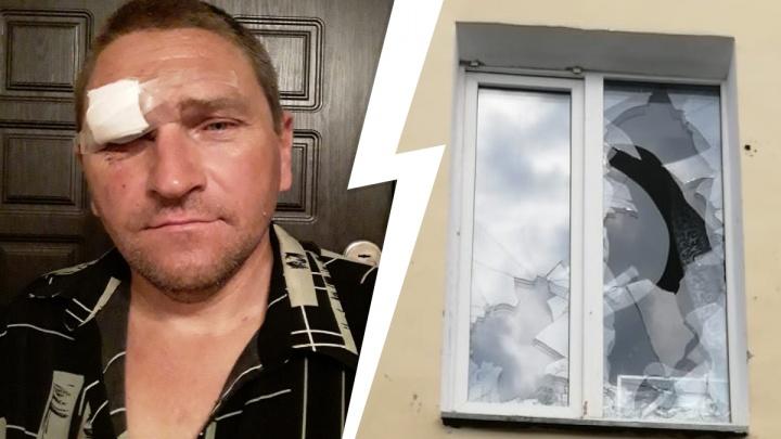 Конфликт в коммуналке на Вторчермете: «Разбил окна камнями и кричал, что будет убивать»