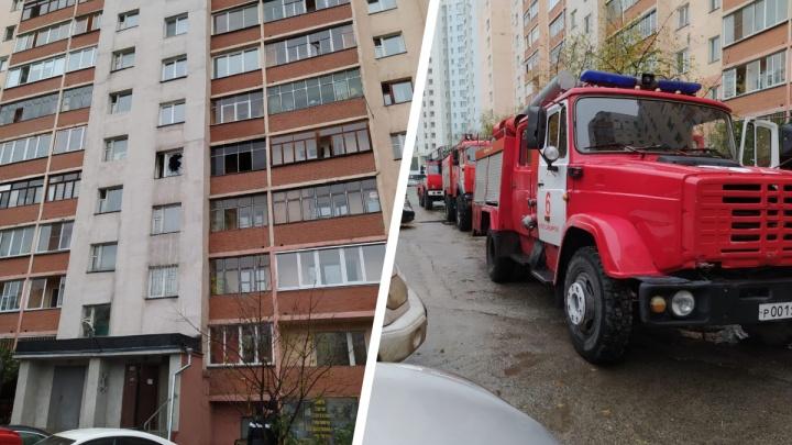 В Горском микрорайоне загорелась квартира — в пожаре пострадал её хозяин