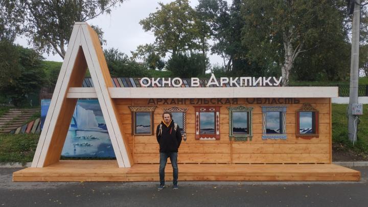 Куратор «Сборной Тайболы» рассказал на видео, как создавались скульптуры на набережной Архангельска