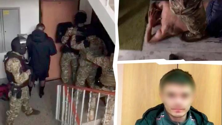 Челябинская полиция задержала налётчиков, обчистивших на миллион салоны связи