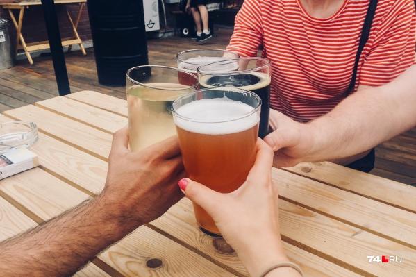 Из напитков большинство челябинцев предпочитает некрепкий алкоголь