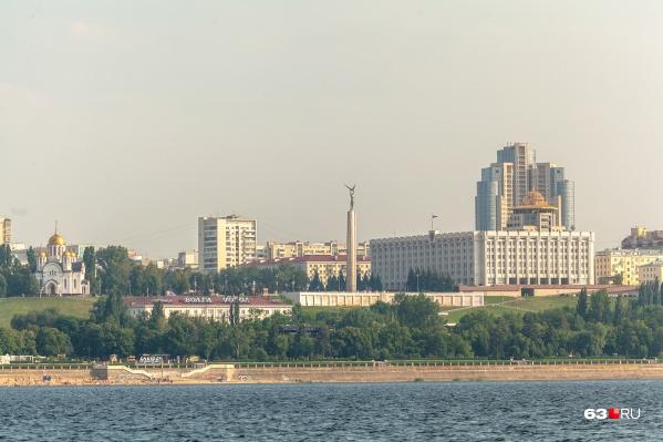 Самара занимает 9-е место в России по численности населения
