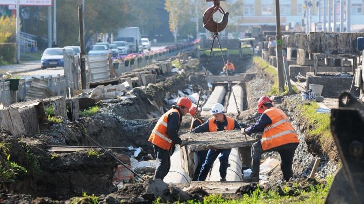 Коммунальщики на несколько недель закроют проезд по двум улицам на Уралмаше