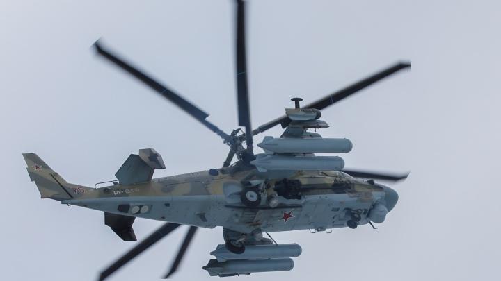 На Центральной набережной Волгограда проходит репетиция авиапарада