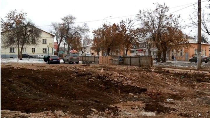 СМИ: в Уфе снесли старинное здание на будущей пешеходной улице