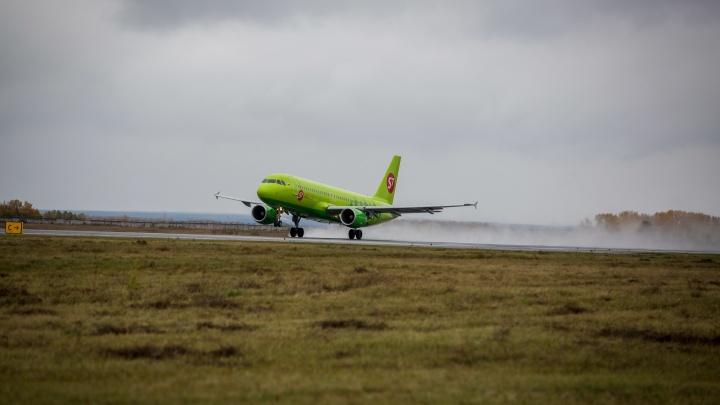 В Кузбассе с начала года в два раза уменьшилось количество авиапассажиров