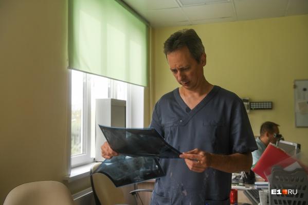 В Свердловской области за неделю 2475 человек заболели пневмонией