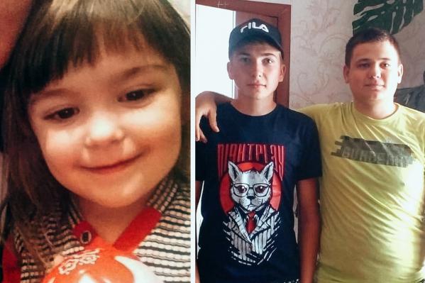 Освободить маленькую Софию помогли братьяАртем и Дмитрий Селютины