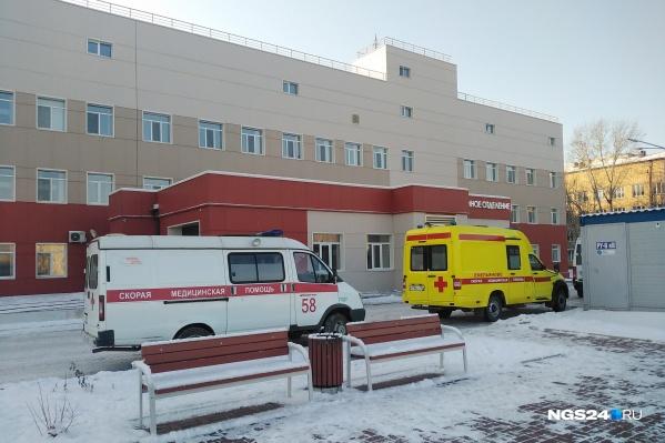Один из ковидных госпиталей находится в БСМП