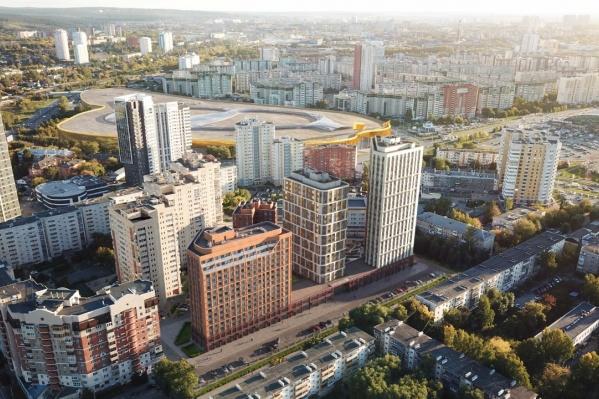 Новый жилой комплекс появится неподалеку от «золотого» автовокзала