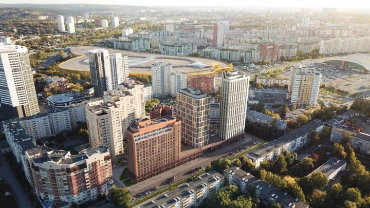Около «золотого» автовокзала появится 25-этажный жилой комплекс. Показываем, как он будет выглядеть