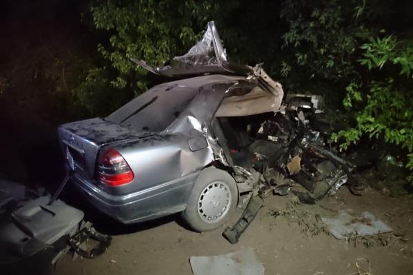 Пассажиров обеих машин обследуют в больнице
