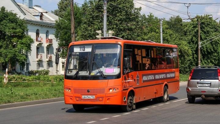 Ещё одно маршрутное такси уходит с нижегородских дорог