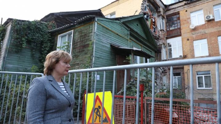 «Дом не был аварийным»: глава Ленинского района прокомментировала ЧП на Галактионовской