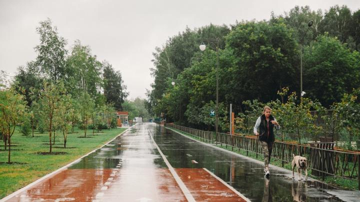 В последнюю неделю июля Тюмень зальет дождями