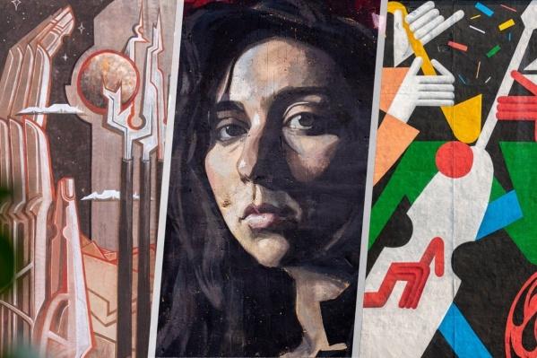 Художники превращают здания города в картины