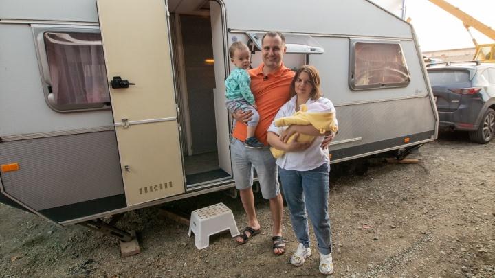 Изоляция на колёсах. Челябинцы купили мобильный дом для отдыха с детьми в пандемию коронавируса