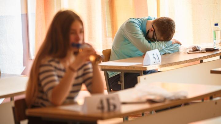 Трёх выпускников в Новосибирске удалили с ЕГЭ по русскому языку