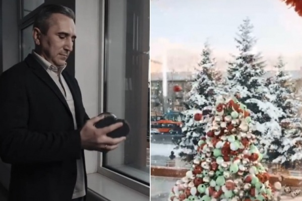Новогодний ролик губернатора в TikTok