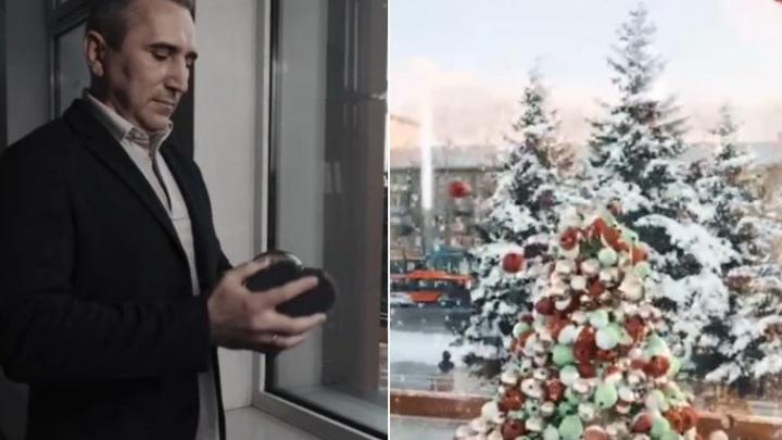 «Губернатор знает, как создать настроение»: Александр Моор снялся в новогоднем ролике для TikTok