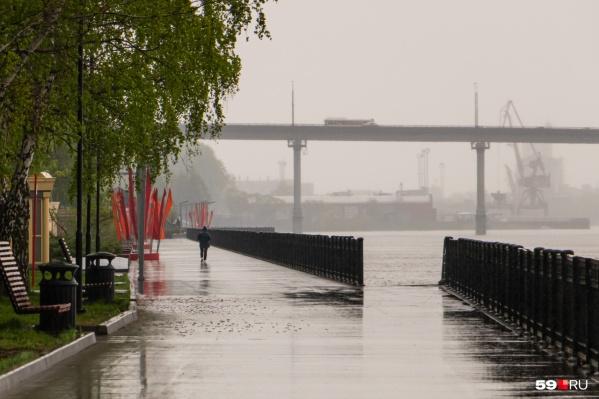 В ближайшие дни в Пермском крае могут пойти дожди