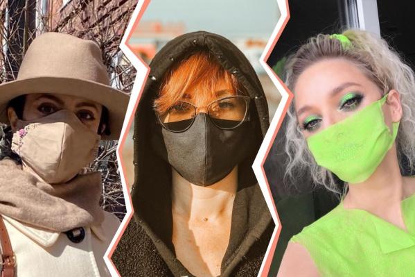 Оказывается, обычная маска может не только защитить от инфекций, но и подчеркнуть ваш стиль