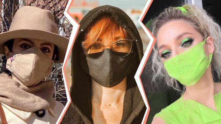Как коронавирус аукнулся на моде: публикуем 8 стильных образов тюменок в медицинских масках
