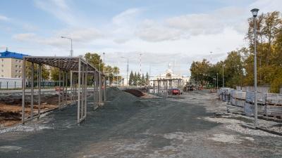 У аэропорта Челябинска построят сквер с тоннелями и будут приветствовать гостей на экране за 42 миллиона