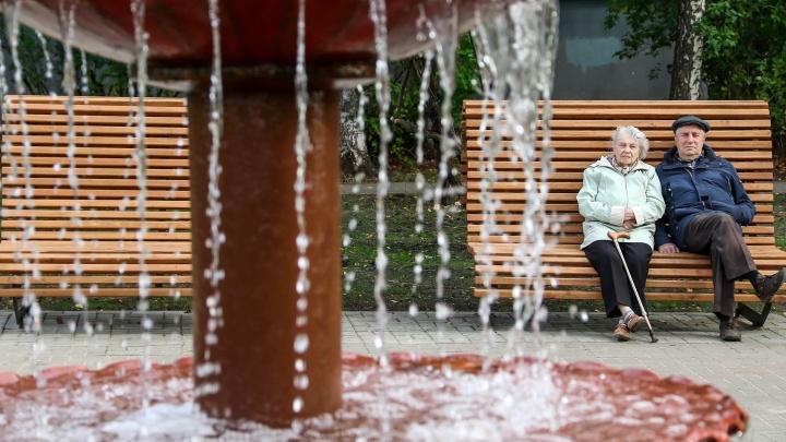 Фонтаны, липы и десятки скамеек: гуляем по обновленному скверу имени Никиты Рыбакова