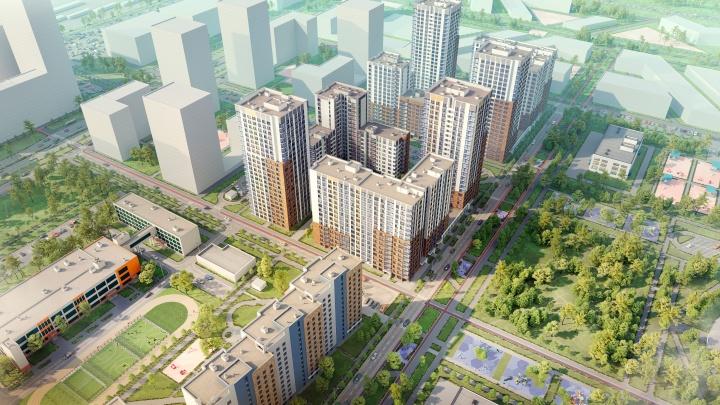 К концу года на новом ВИЗе достроят третью очередь известного жилого комплекса «Янтарная долина»